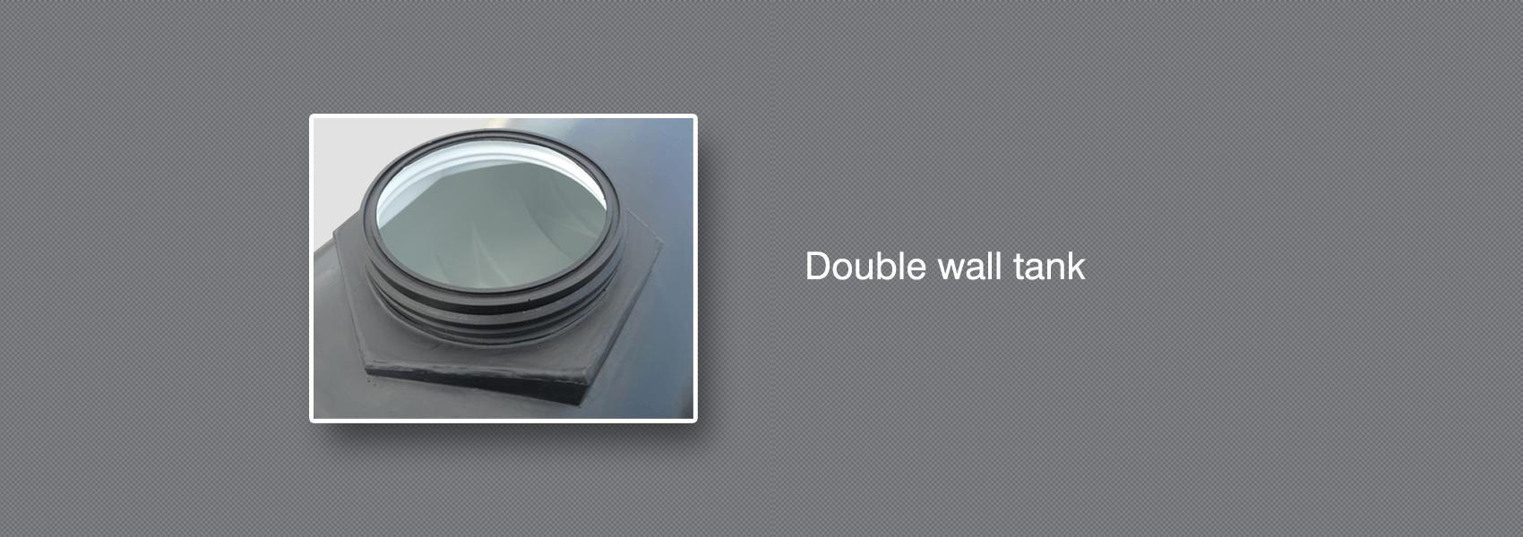Double wall tank